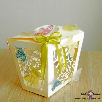 Schachtel für elektr. Teelicht