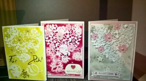 Karten aus dem Workshop