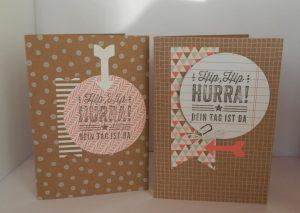 Karten aus dem Set Hip-HipHurra