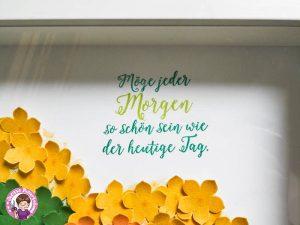 """Spruch aus dem set """"Jahr voller Farben"""""""