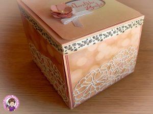 Geschlossene Rosenbox
