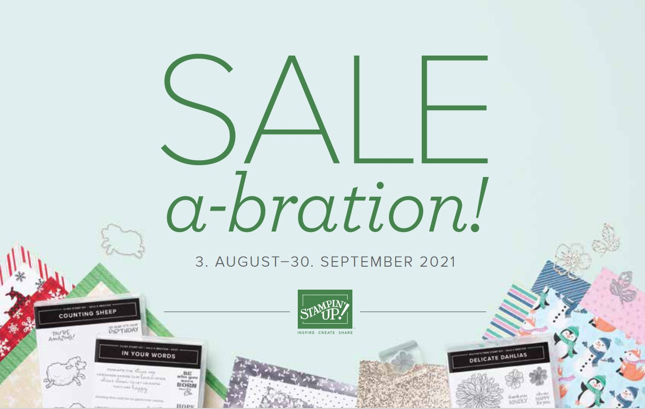 Sale-a-Bration August - September
