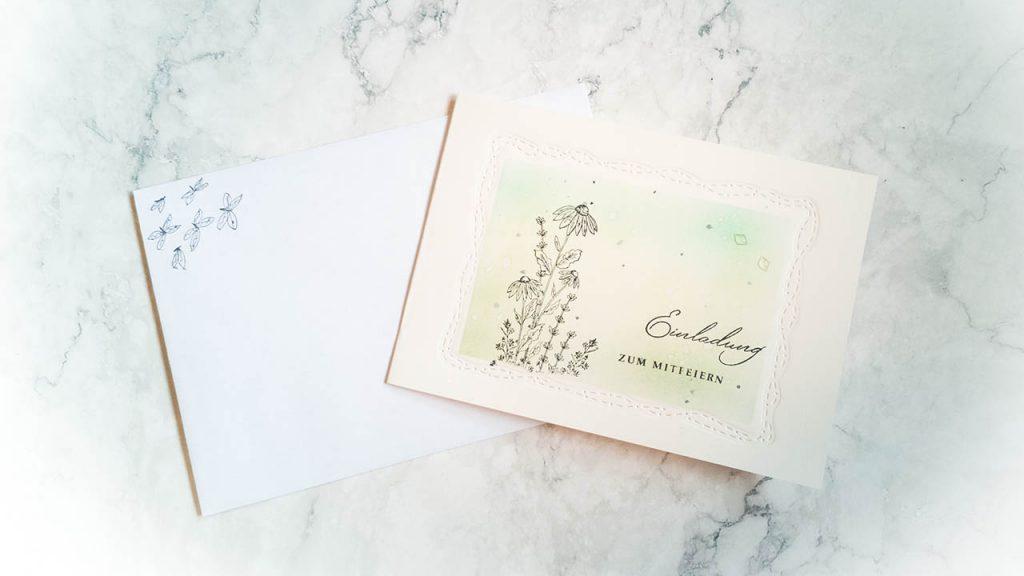 Einladungskarte Grillen